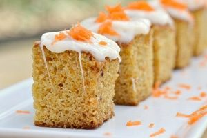 Carrot cake bites Easter Brunch Menu