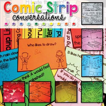 Are you looking to introduce Comic Strip Conversations (originally mentioned by Carol Gray, the creator of Social Stories) to help with social skills, conversations, thoughts, feelings, politeness, friendship skills and expectations? Carol Gray mentioned how this is a great method to help children with Asperger's / High Functioning Autism learn conversational skills.This Comic Strip Conversations introduction starter kit can definitely help you!Most of the follow-up activities included in…