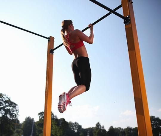 Do you struggle with doing just 1 pull up?? Follow this day-by-day plan to crank out pull-ups like a pro.
