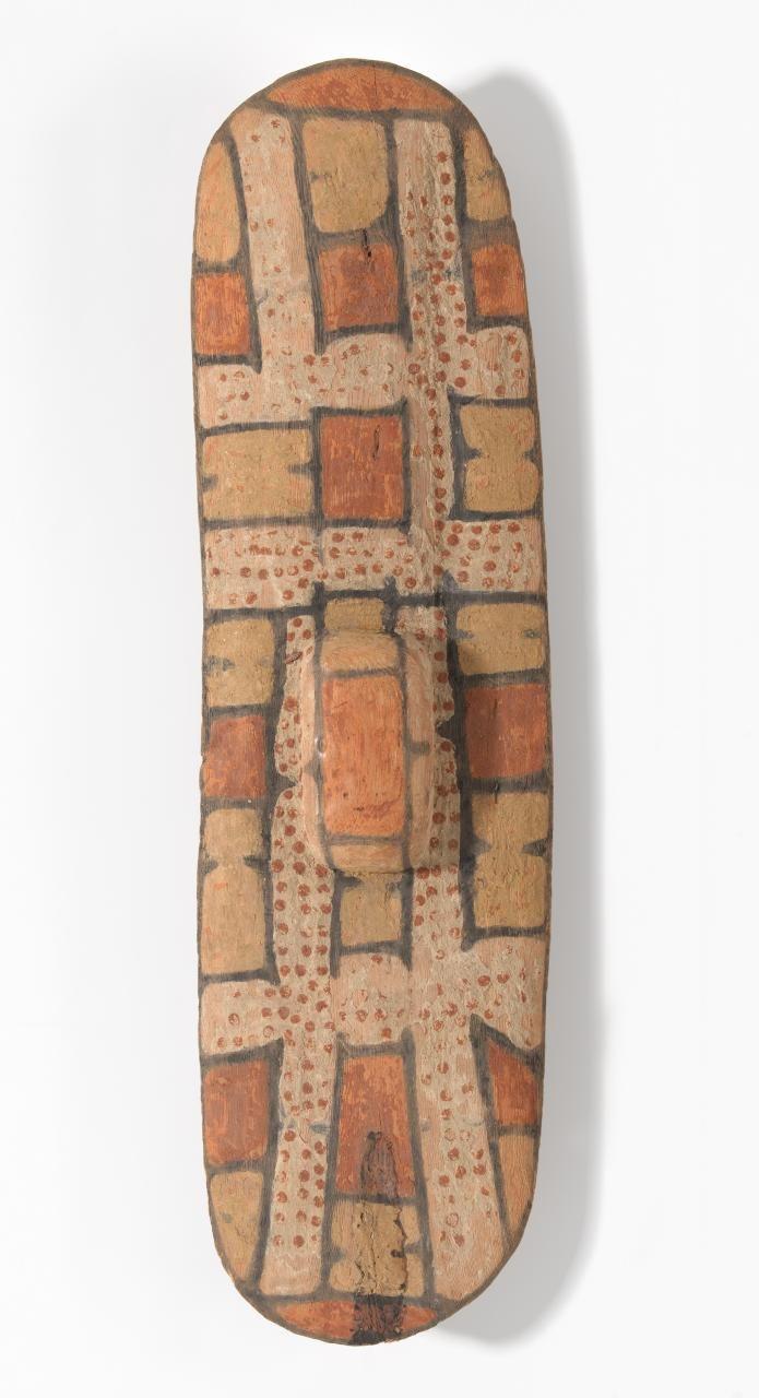 Rainforest shield, Unknown Queensland Aboriginal, NGV