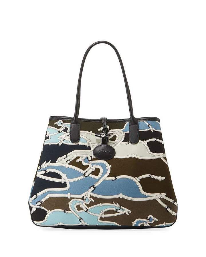 Longchamp Roseau Galop Tote Bag - ShopStyle | Bags, Longchamp ...