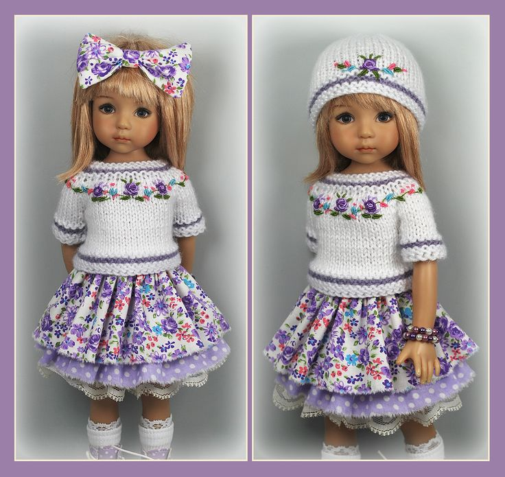 OOAK White Lilac Outfit from maggie_kate_create on ebay ends 8/19/14. SOLD for $122.50