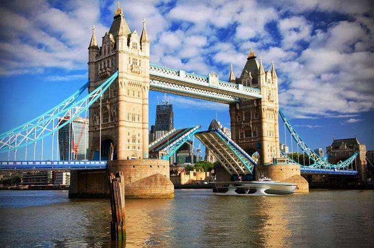 MS turanor planetsolar passes tower bridge - designboom | architecture & design magazine