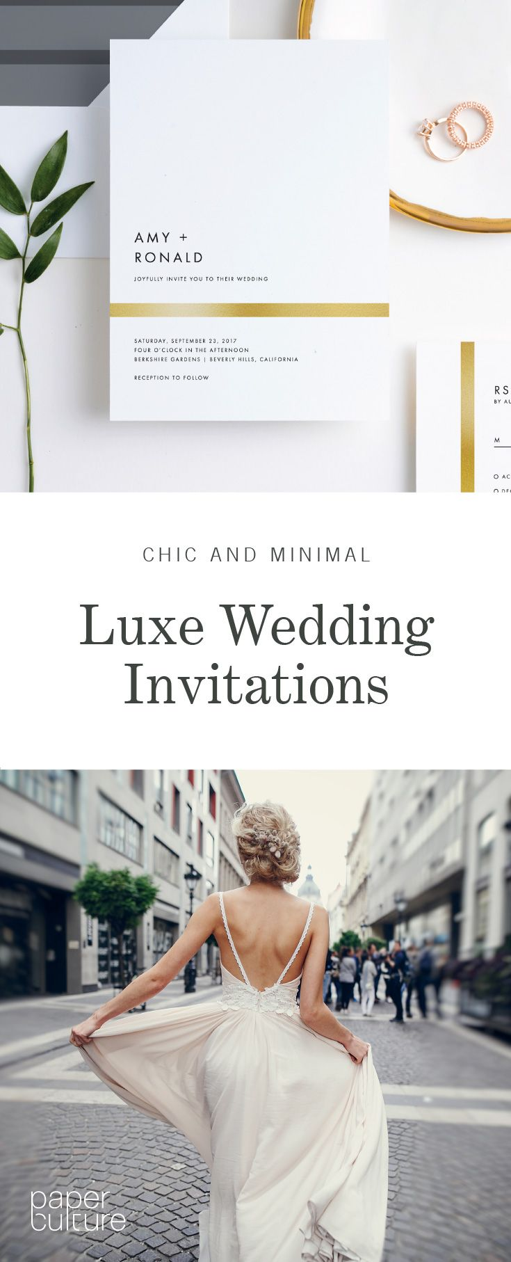 Sign up to receive a $25 off voucher for modern and eco-friendly wedding invitations. Customize colors, layouts plus much more.