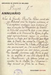 Annuario dell'Archivio di Stato di Milano. 2012 | Scalpendi Editore