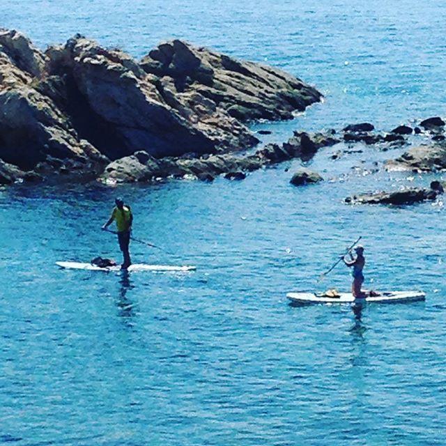 Stand up paddling at the donkey islands #halkidiki #greece #exploretheoutside #sup