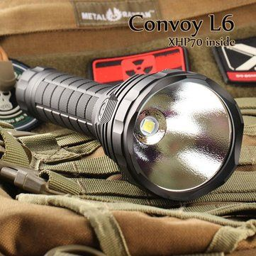 Convoy L6 XHP70 3800LM Super Bright Long Range LED Flashlight Sale - Banggood.com, THIS HAS ALWAYS BEEN ONE OF THE BEST BUDGET LIGHTS AVAILABLE. UNBELIEVABLE VALUE AND PERFORMANCE!
