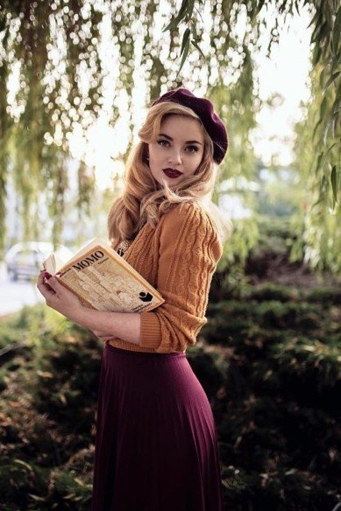 @Vintagemaedchen_by_victoria | 19 Women With Vintage Style You'll Want to Follow on Instagram