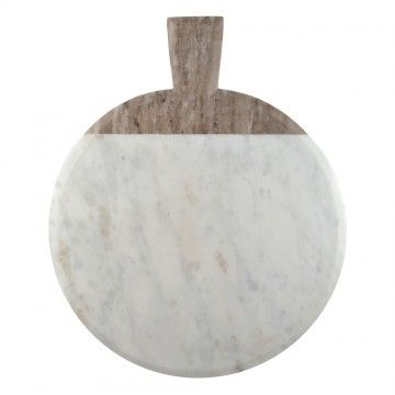 White Marble cheese board, the perfect setting for your cheese platter.