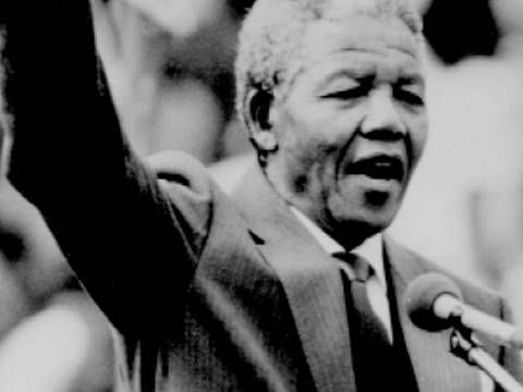 Short biography of Nelson Mandela from inspiremykids.com. Search around the site for others, about Martin Luther King, for example.