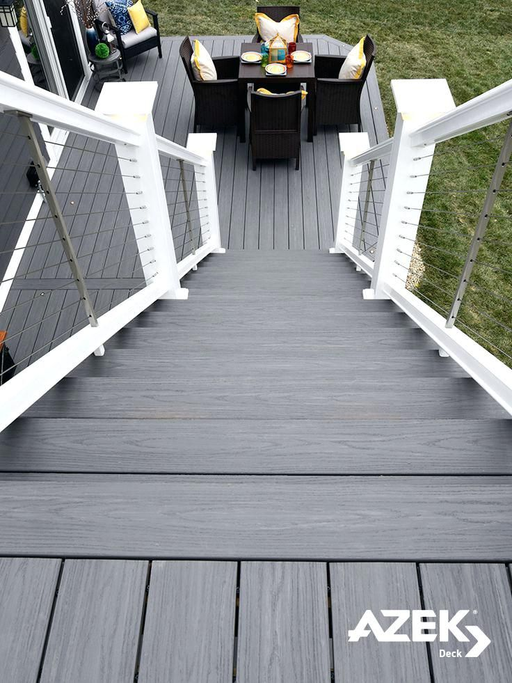 What Color Deck Stain For Gray House Deck Paint Staining Deck