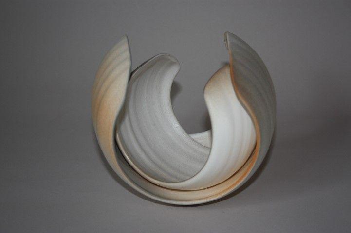 Kiya Nancarrow - Tri-colour Huggle (ceramic)