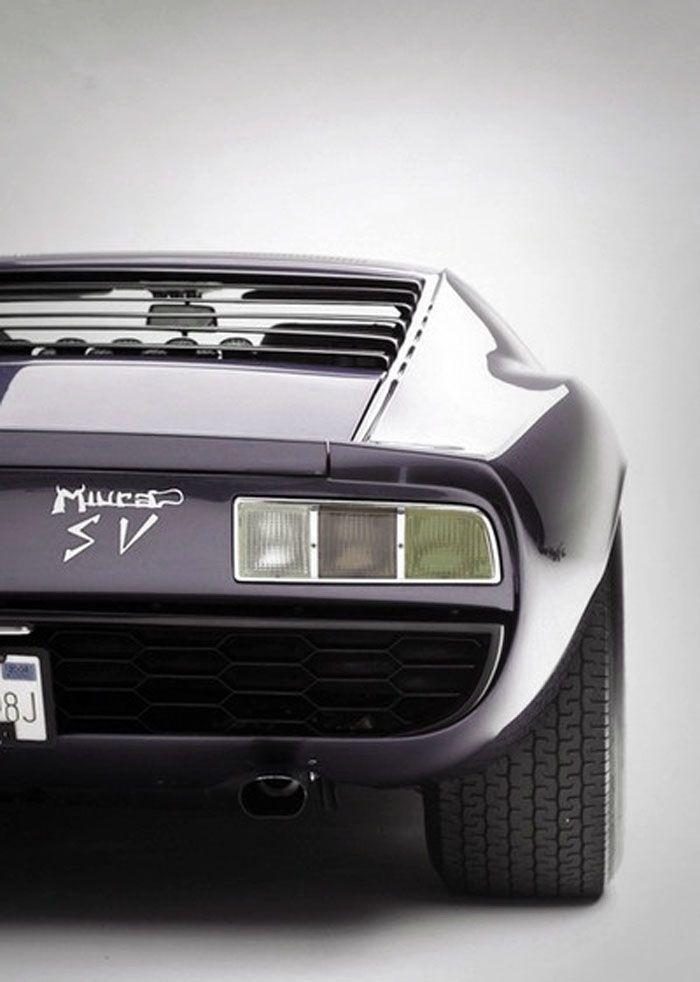 1967 Lamborghini Miura SV Old School.love This Car.