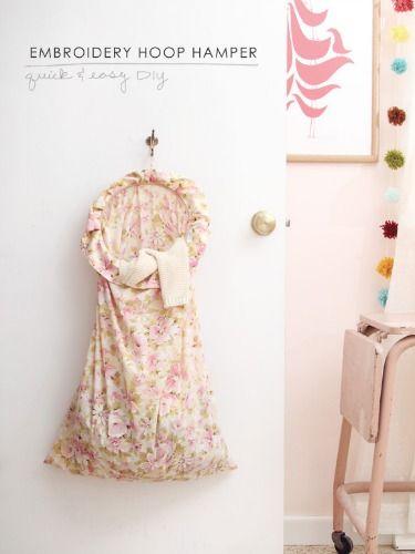 Embroidery Hoop DIYs - New Ways to Use Embroidery Hoops - Good Housekeeping