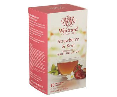 Whittard Strawberry & Kiwi Fruit Infusion - 20 teposer