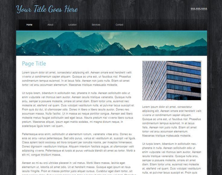 Best 25+ Basic website templates ideas on Pinterest Website - flex programmer resume