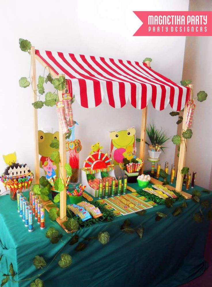 Sapo Pepe Birthday Party Ideas | Photo 16 of 38 | Catch My Party