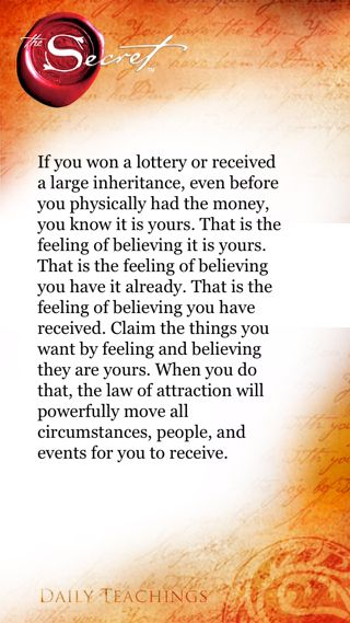 http://manimir.digimkts.com/ Who knew but glad I do The Secret ~ Law of Attraction ❤ SP