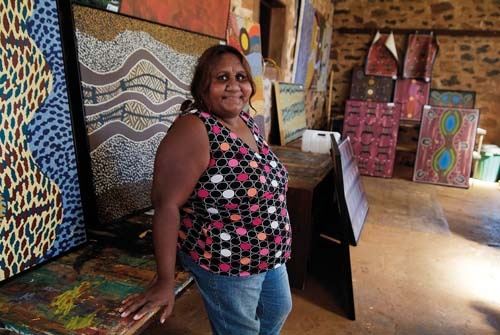 Among the mines and cattle of Western Australia's tough north, a rich art scene is emerging that reflects both culture and landscape.