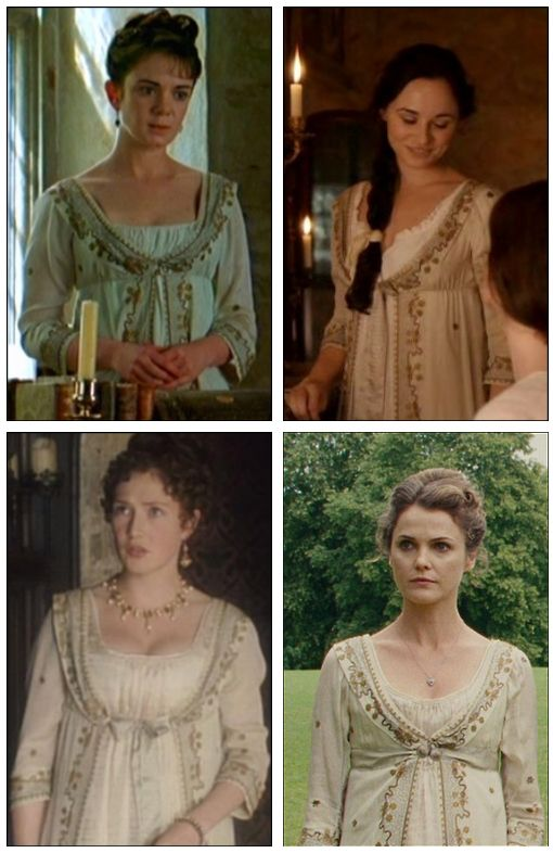 """This costume has been used four times, in """"Mansfield Park"""", """"Austenland."""" """"FromTimeToTime"""" and """"LittleDorrit"""""""