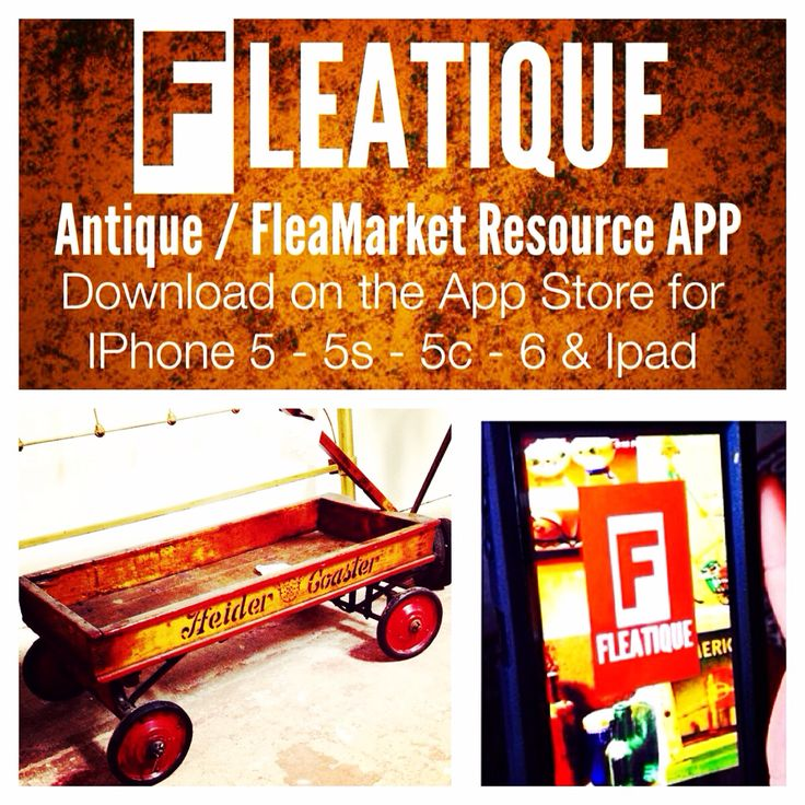 If you love ANTIQUES / VINTAGE / FLEA MARKET shopping / hunting ..... Download the FLEATIQUE APP on the Apple App Store for IPhone 5 - 5s - 5c - 6 - ipad ... Antique fleamarket vintage antiques roadshow American pickers rusty gold signage sign signs toy toys furniture repurposed repurposing DIY upcycled clothing clothes junk gypsy gypsies swap meet flea market flip style nashville brimfield market warriors auction Cincinnati Boston Chicago Columbus Louisville Dallas Phoenix Tulsa Oklahoma…