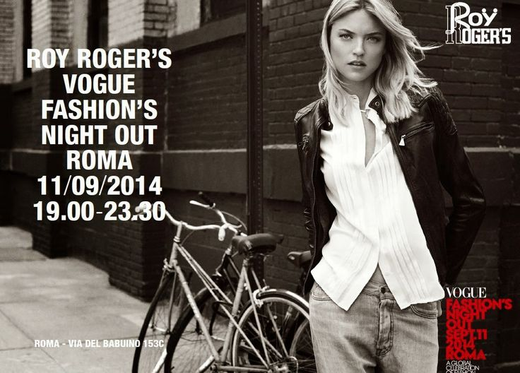 Fashionista Smile: Roy Roger's: Vogue Fashion's Night Out - Roma