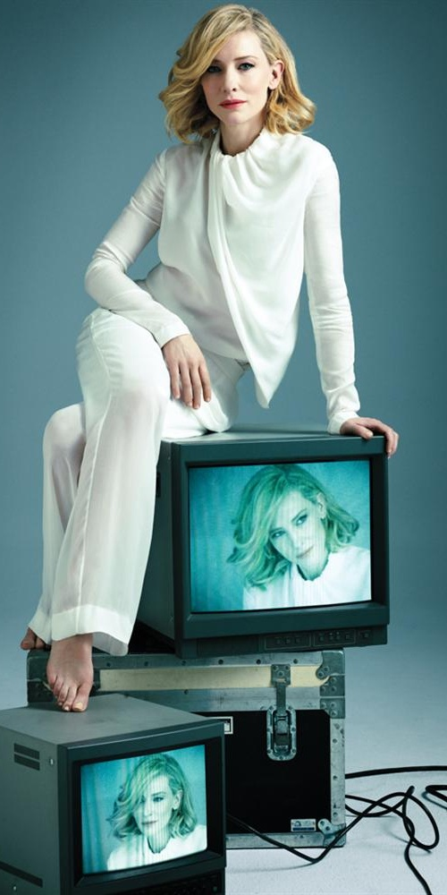 Cate Blanchett | Photography Alexi Lubomirski - Love her. This face is making it into a book someday.