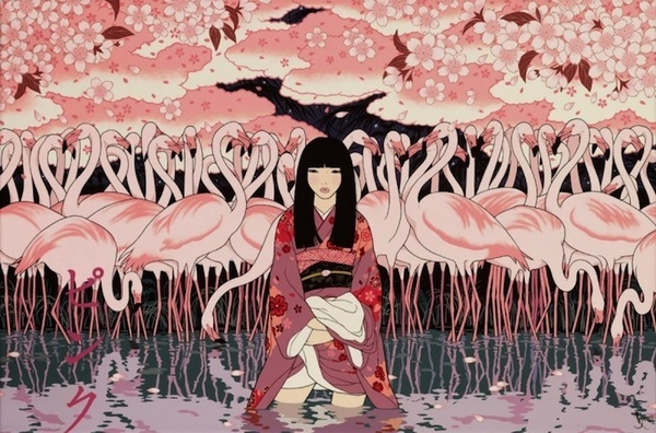 japanese art, kimono