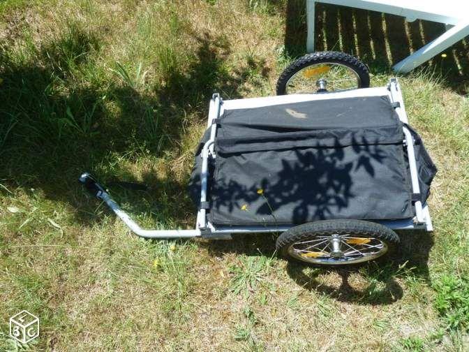 Remorque vélo pliable