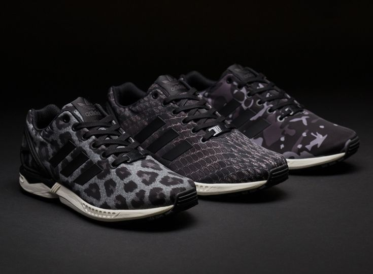 Mens Shoes adidas Originals ZX Flux Racer Asym White / Core