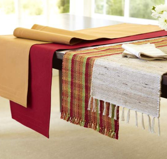 Give Your Table A Pop Of Spring Color With A Bright Pier 1 Table Runner