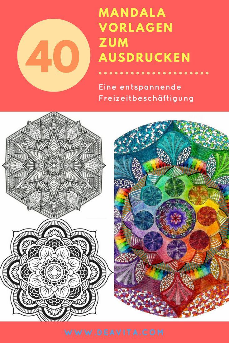 25 best ideas about mandala vorlagen on pinterest mandala zeichnung mandala bilder and. Black Bedroom Furniture Sets. Home Design Ideas