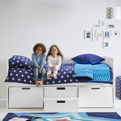 Pilgrim Storage Bed, £699, 90H x 199.4L x 99.5D (cm)