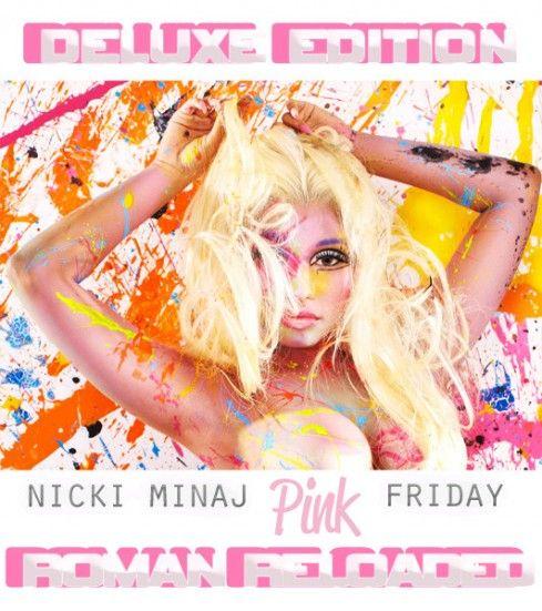 "Album Cover: Nicki Minaj ""Pink Friday Roman Reloaded"" - a girl and ..."