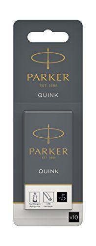 Parker Quink Fountain Pen Refills Long Cartridges - Black Ink, Pack of 10 No description (Barcode EAN = 3501179502069). http://www.comparestoreprices.co.uk/december-2016-4/parker-quink-fountain-pen-refills-long-cartridges--black-ink-pack-of-10.asp