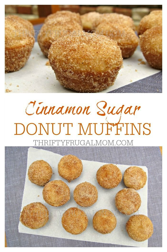Full of flavor and rolled in cinnamon sugar topping, these little donut muffins are perfect to munch on any time! They're healthier than a donut, but just as delicious!