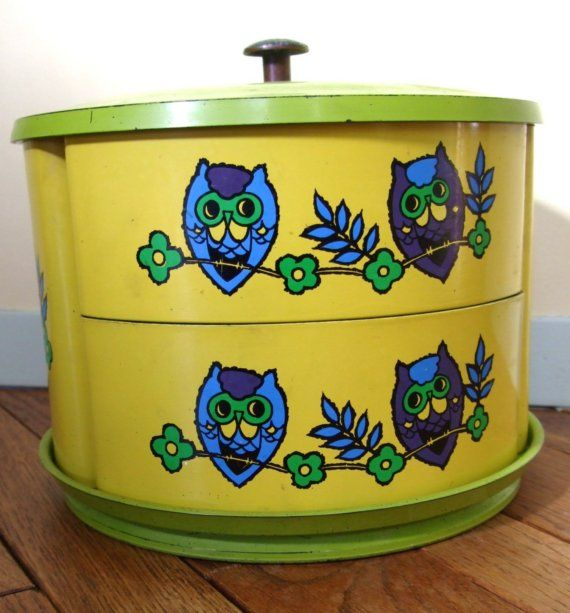 Vintage Owl Kitchen Decor: 34 Best Canister Sets Images On Pinterest