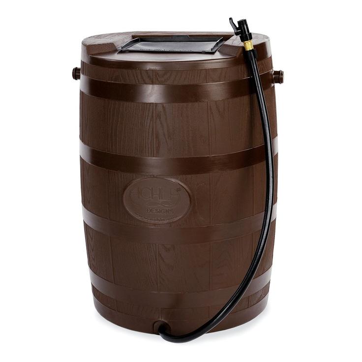 Have to have it. Achla Designs 54 Gallon Rain Barrel  $199.99