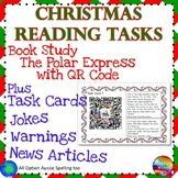 CHRISTMAS READING Task Cards Reading Center Polar Express