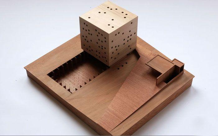 Smiljan Radic,  maquette, architectural model, maqueta, modulo