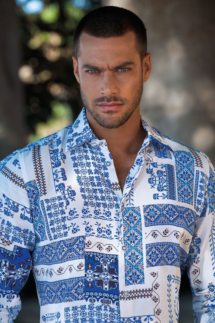 Men's shirt, italian fashion