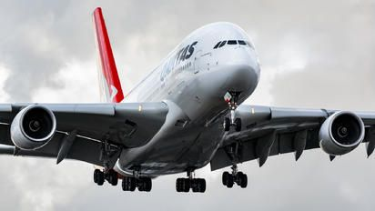 VH-OQA - QANTAS Airbus A380 photo (168 views)