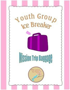 This is a great tool to get your youth group members engaged with each other. It works with groups that already know each other or are getting to know each other. They will have to work together to determine what items they would want to bring on a mission trip!