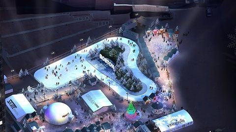 Boston's City Hall Plaza gets winter makeover with skating, holiday market | Local News - Home