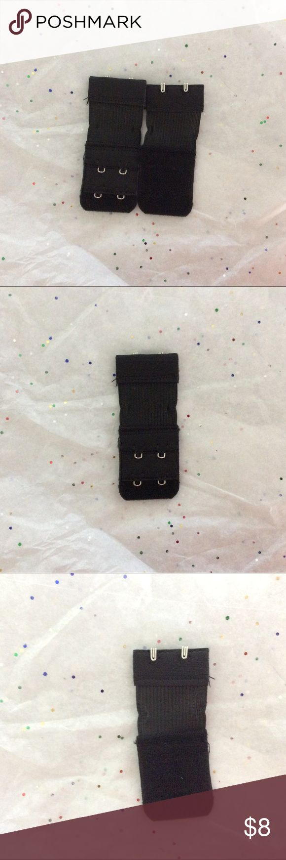 """TWO CLIP BRA EXTENDERS   """"NWOT"""" """"NWOT"""" TWO CLIP BRA EXTENDER BLACK...(brnbx) SORRY NO TRADES. Accessories"""