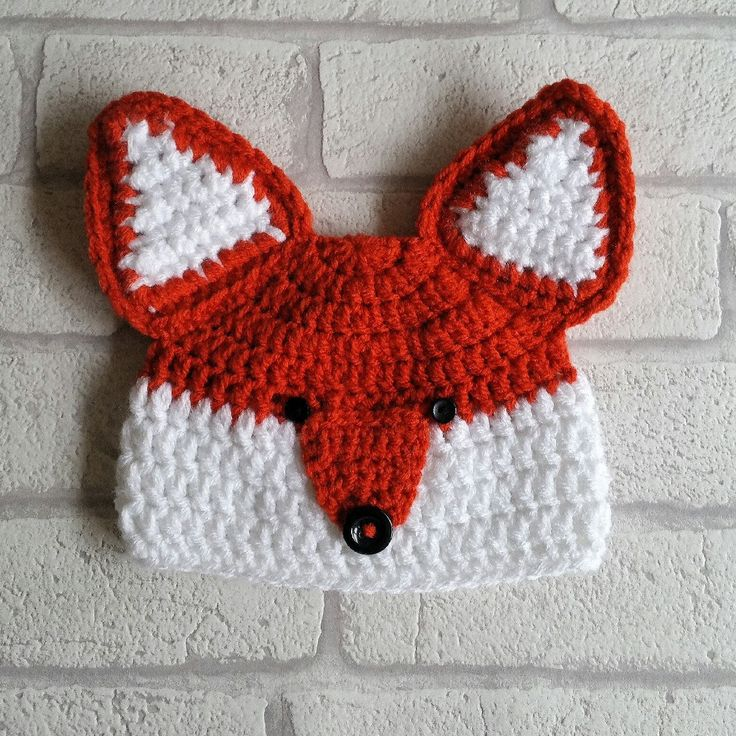 Boys Fox Hat the ultimate baby shower gift!