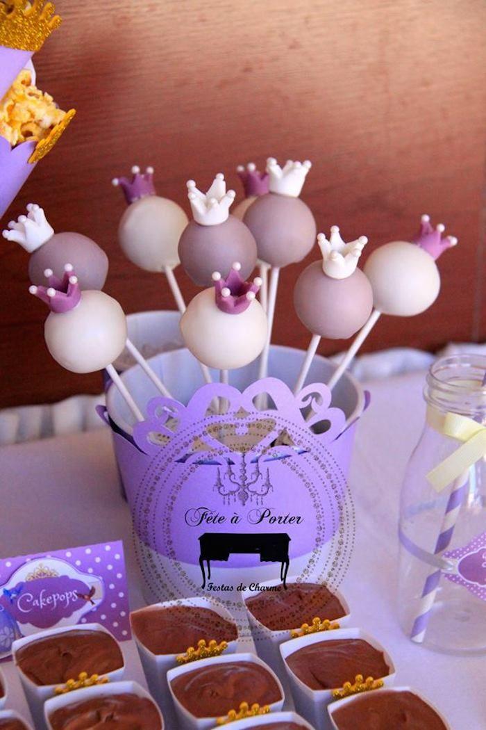Festa a tema Sofia la principessa_cake pops 2