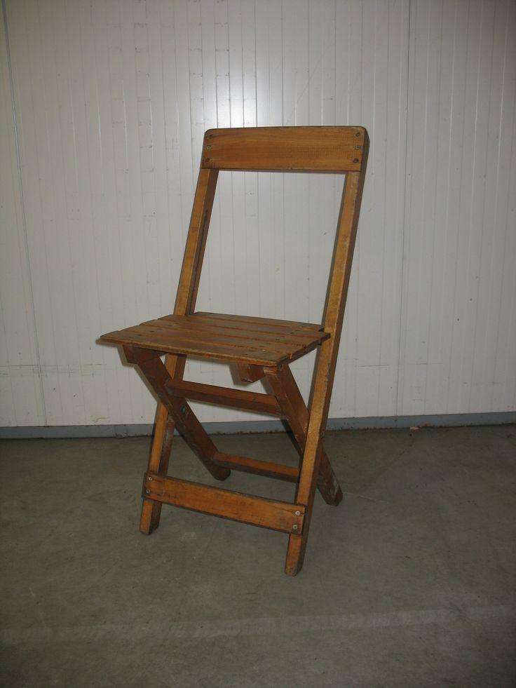 De Haas Verhuur » Assortiment stoelen » Houten klapstoel   Inklapbaar, hout, pallet, huur, verhuur prijs
