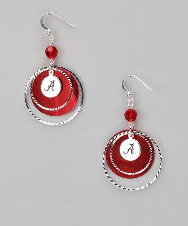 Take a look at this Alabama Game Day Earrings by LogoArt on #zulily today!