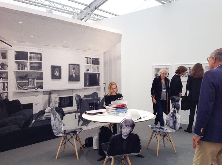 Goshka Macuga, Kate McGarry Gallery at Frieze London, October 2014, photo Contemporary Lynx, Frieze Art Fair 2014: http://contemporarylynx.co.uk/archives/4840